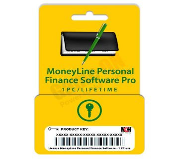 NCH MoneyLine Personal Finance (Professional Genuine License) 1PC/Lifetime License