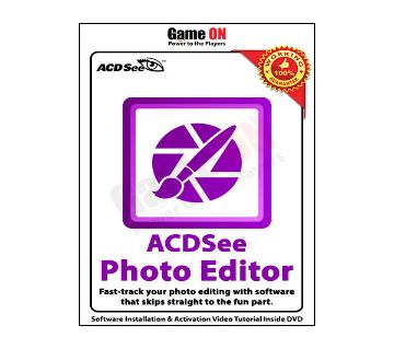 ACDSee Photo Editor v11.0 (Full Version) - x64bit Only