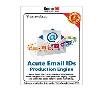 Acute Email IDs Production Engine v10.3 (Full Version)