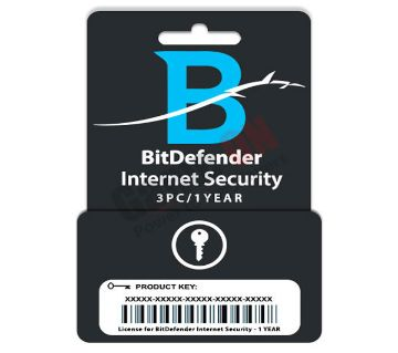 BitDefender Internet Security (Product Key) - 3PC/1Year License
