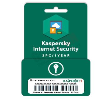 Kaspersky Internet Security (Product Key) - 3PC/1Year License