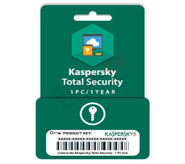 Kaspersky Total Security (Product Key) - 1PC/1Year License