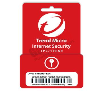 Trend Micro Internet Security (Product Key) - 1PC/1Year License
