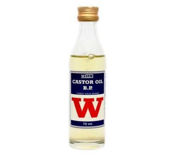 Wells castor oil 70ml Spain