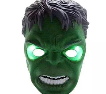 LED Hulk Mask Green