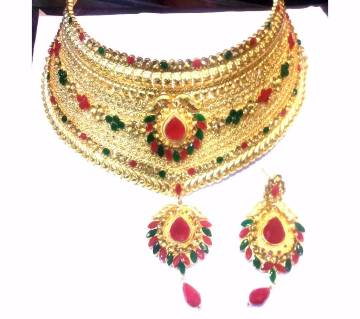 Gold-Plated Necklace Set