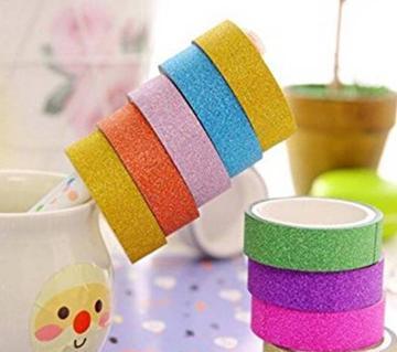 Colorful Washi টেপ- 10 পিস্