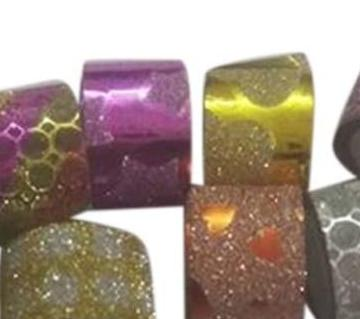 Mini glitter washi tape 8 pcs