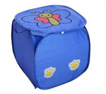 Washing Foldable Laundry Basket (Blue)