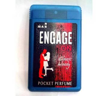 engage on pocket perfume - India