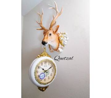 Deer Dual Wall Clock