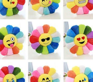 sunflower emoji pillow full set