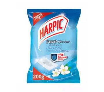 Harpic Toilet Cleaning Powder with Malodor Control Technology 200gm by Reckitt Benckiser