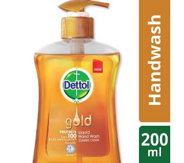 Dettol Handwash 200 ml Pump Gold