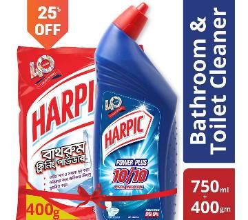 Harpic Toilet & Bathroom Solution Combo