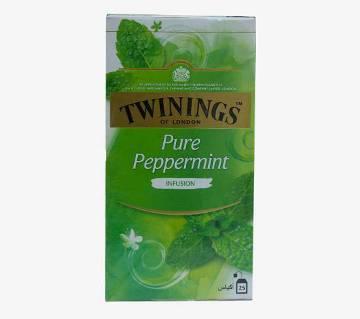 Twinings চা (বিশুদ্ধ পেপারমিন্ট) - 25 bags