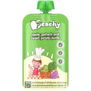 Peachy Veg-6 Kids Food