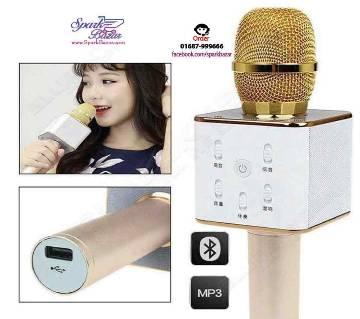 Q7 Blutooth Speaker Microphone karoke