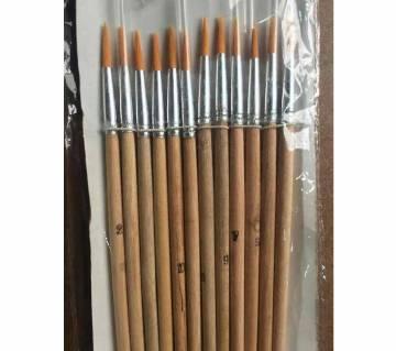 color brush- 12 pieces set