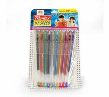 Montex glitter pen
