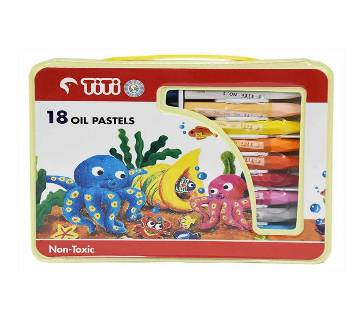 Tit oil প্যাস্টেল- ১৮ কালার