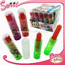 8g lily lipstick sugar candy fruity flavor hard candy 30 pcs