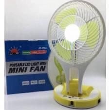 Portable Led Light With Mini Fan