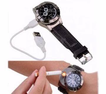 HUAYUE USB Electronic Lighter Watch