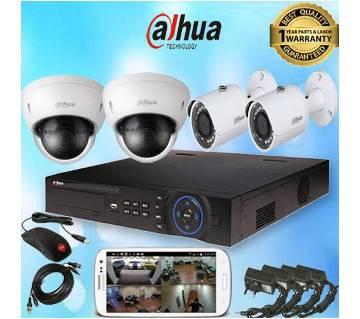 Best 4 চ্যানেল CCTV ক্যামেরা প্যাকেজ