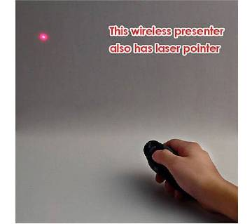 wireless presenter and pointer