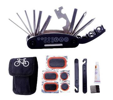 15 in 1 bicycle repair tool kit