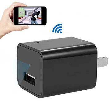Wi-Fi hidden charger camera