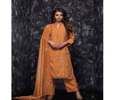 Rabiya SRI আনস্টিচড ক্যাটালগ স্যুট - 6 Pieces