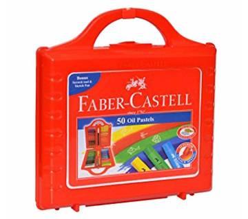 FABER CASTELL Oil Pastels -50 pcs