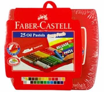 FABER CASTELL Oil Pastels -25 pcs