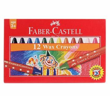 FABER CASTELL Bullet Wax Crayons - 58mm