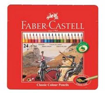 FABER CASTELL Color Pencil-24 pcs