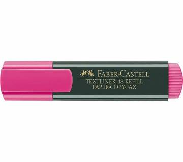 FABER CASTELL Magenta Color Text liner-10 pcs