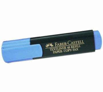 FABER CASTELL Blue Color Text liner-10 pcs