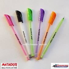 Matador Orbit Pen - Black - 24 Pcs