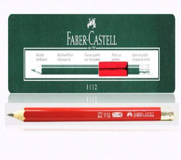 FABER CASTELL Red HB/2B Pencil- 12 pcs
