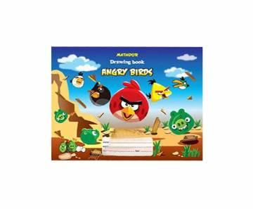 Matador Angry Birds Drawing Book-44 pages