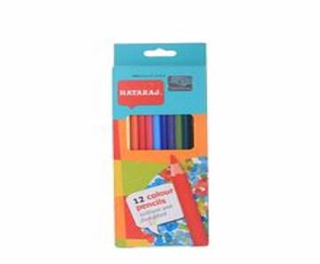 NATARAJ Full Size Color Pencil-12 pcs