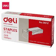 Deli 24/6 Pin For Stapler Machine - 10Pcs (Pack Of Ten)