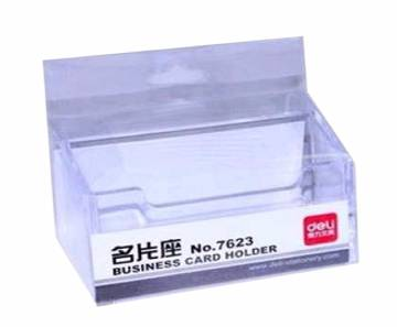 Deli Business Card Holder Box - 1pcs