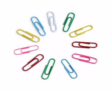 Deli 24mm Office Paper Clip- Pack of Three