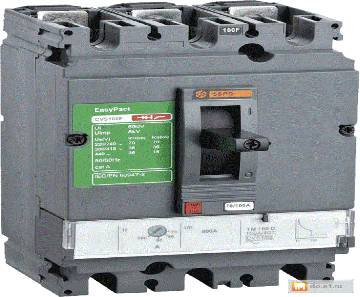 3P 50A Easypact CVS-CVS100B Magnetic MCCB LV510304