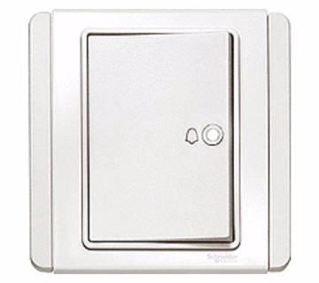 4A 1 Way Horizontal Bell Push Switch