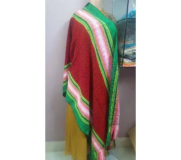 Multi color ladies shawl