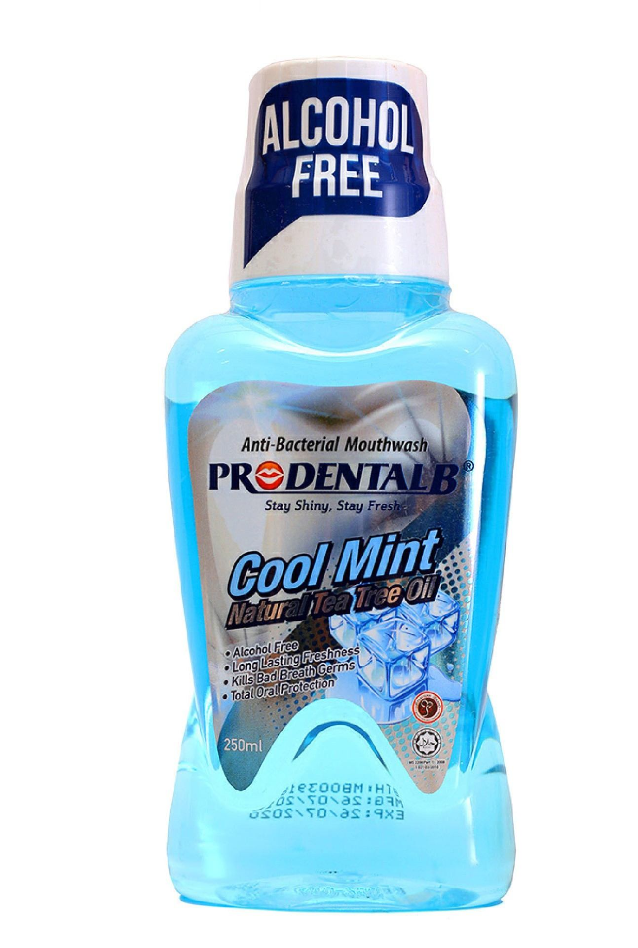 Prodental B Cool mint mouth wash 250 ml